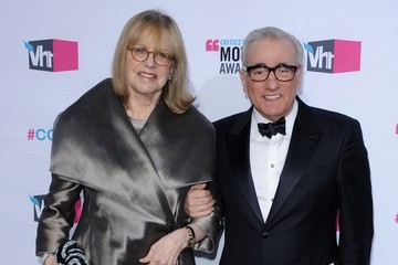 Martin Scorsese Helen Morris 17th Annual Critics' Choice Movie Awards - Arrivals