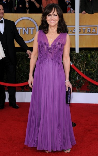 19th Annual Screen Actors Guild Awards..Shrine Auditorium, Los Angeles, CA..January 27, 2013..Job: 130127A1..(Photo by Axelle Woussen)..Pictured: Sally Field.