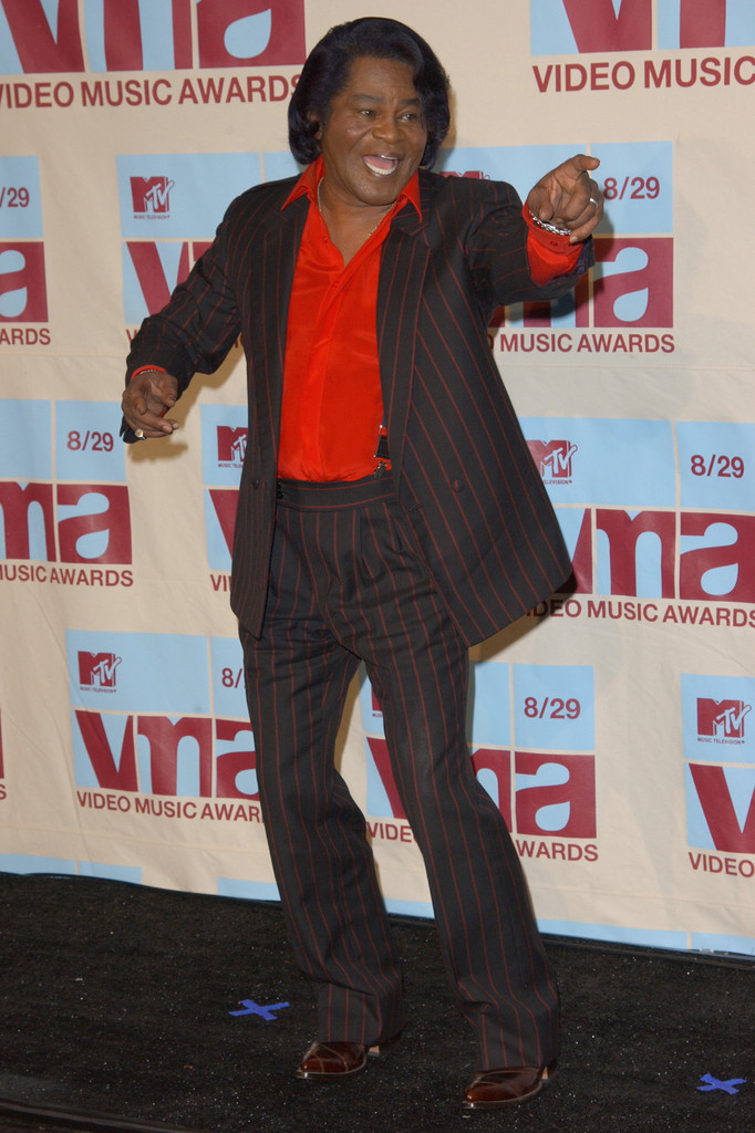 James Brown at the 2002 MTV Video Music Awards