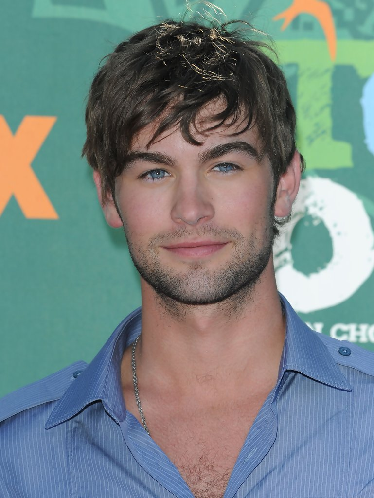 Chace crawford hairy chest