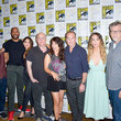 Clark Gregg and Chloe Bennet Photos