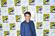 Ralph Macchio is seen at the press line for 'Cobra Kai: Past, Present and Future' panel at 2019 Comic-Con International - Day 1 in San Diego, California.