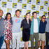 Carlos Valdes Candice Patton Photos - Eric Wallace, Candice Patton, Tom Cavanagh, Danielle Panabaker, Grant Gustin, Carlos Valdes and Hartley Sawyer are seen attending 'The Flash' Photo Call during Comic-Con International at Hilton Bayfront in San Diego, California. - 2019 Comic-Con International - 'The Flash' Photo Call