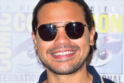 Carlos Valdes is seen attending 'The Flash' Photo Call during Comic-Con International at Hilton Bayfront in San Diego, California.