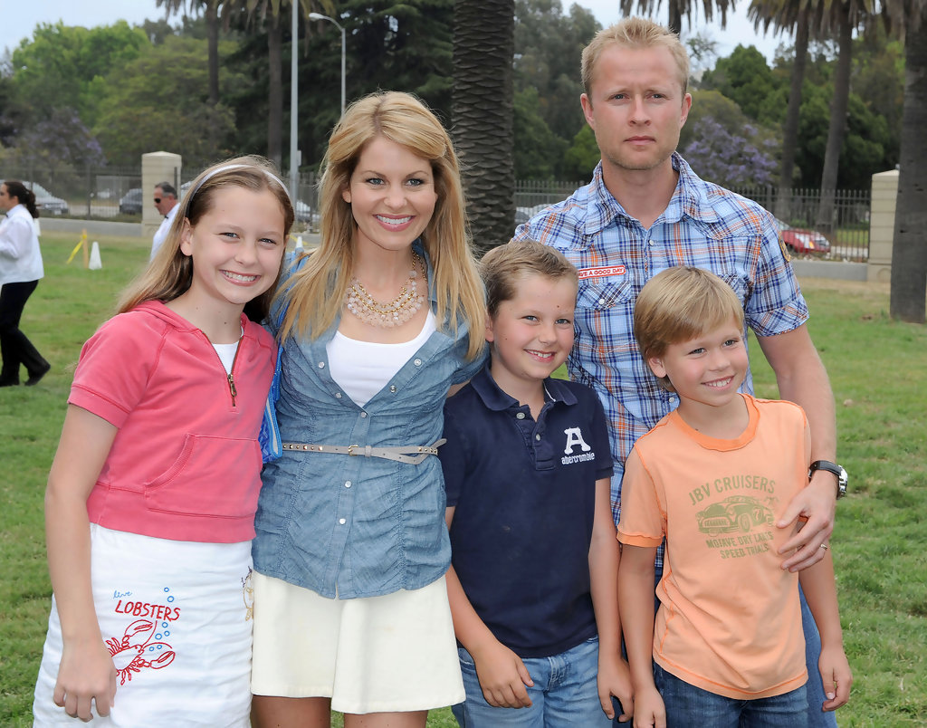 Candace Cameron and val bure