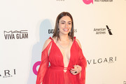 Sophie Simmons is seen arriving to the 26th Annual Elton John AIDS Foundation's Academy Awards Viewing Party held at West Hollywood Park in Los Angeles, California.