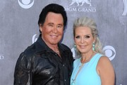 Arrivals at the 49th Annual Academy of Country Music Awards at the MGM Grand Garden Arena in Las Vegas.