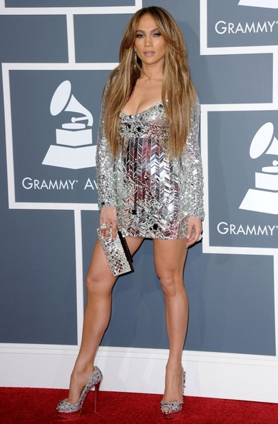 Jennifer+Lopez in 53rd Annual GRAMMY Awards