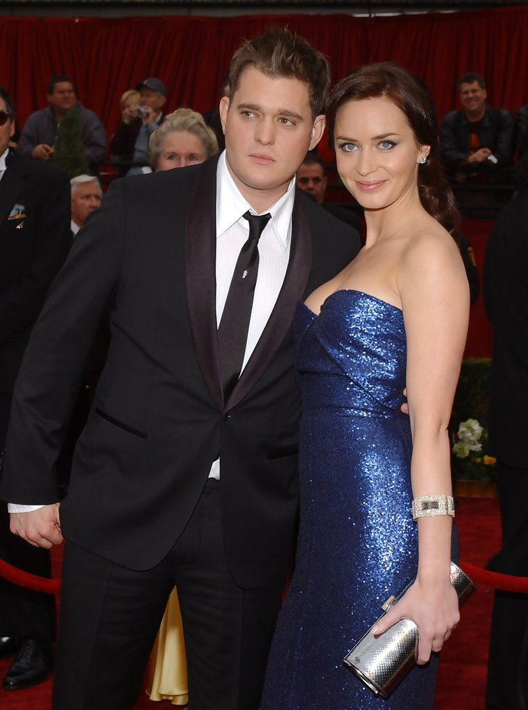 Emily Blunt Michael Buble Photos 79th Annual Academy