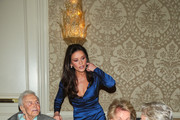 Catherine Zeta Jones, Michael Douglas, Kirk Douglas and Anne Buydens are seen attending the 7th Annual Legacy of Vision Gala at Four Seasons Hotel in Los Angeles, California.