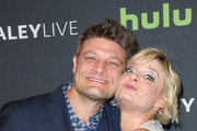 Jay R. Ferguson and Martha Plimpton are seen attending ABC's 'The Real O'Neals' screening and conversation.