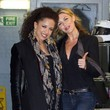 Abbey Crouch Abbey Crouch and Natalie Gumede at the ITV Studios