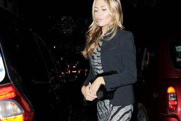 Abby Clancy Celebs at the Love Magazine Christmas Party — Part 3