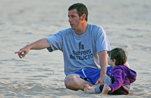 Adam Sandler Daughters Sadie And Sunny