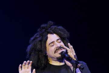 Adam Duritz Counting Crows Performs in London