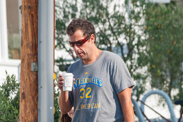 Adam Sandler Adam Sandler Has a Day Out With Daughter Sunny