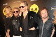 Sammy Hagar, Matt Sorum and Michael Anthony are seen attending the Adopt the Arts Annual Rock Gala at Avalon Hollywood in Los Angeles, California.