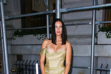 Adriana Lima Adriana Lima Attends As The Worldwide Editors Of Harper's Bazaar Celebrate ICONS By Carine Roitfeld