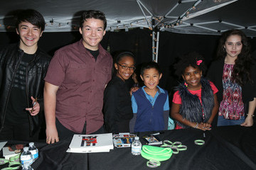 Aedin Mincks Celebrities Attend 'Night On Broadway! The Kid's Zone'