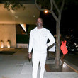 Akon Akon outside Bootsy Bellows in West Hollywood