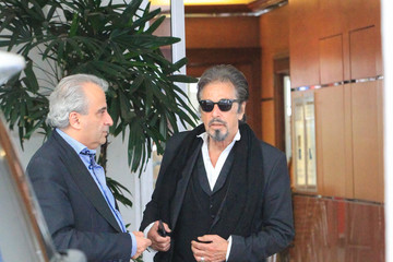 Al Pacino Al Pacino Wears Sunglasses in Beverly Hills