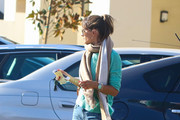 Alessandra Ambrosio Out for a Walk With Her Son