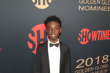 Alex Hibbert Showtime Golden Globe Nominees Celebration