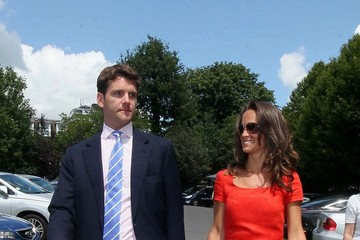 Alex Loudon Pippa Middleton and Alex Loudon at Wimbledon 3