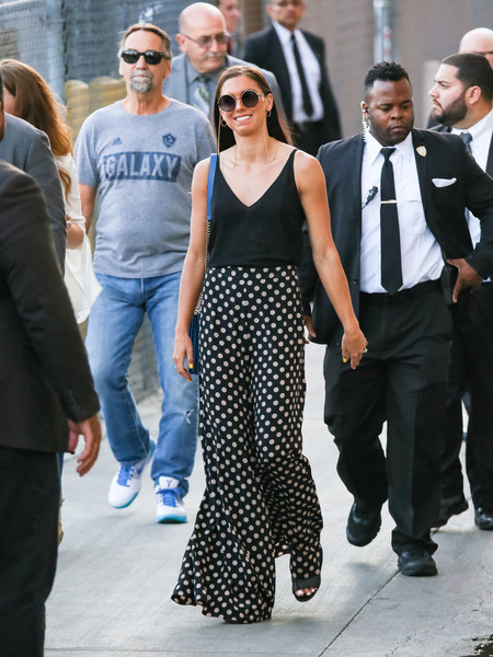 Alex Morgan Spotted Outside 'Jimmy Kimmel' Live In Hollywood, California