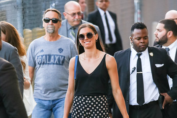 Alex Morgan Alex Morgan Spotted Outside 'Jimmy Kimmel' Live In Hollywood, California