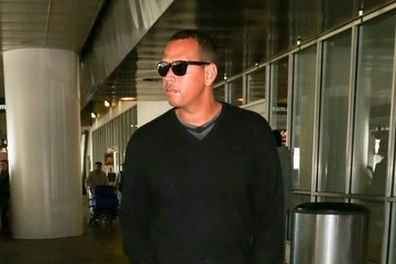 Alex Rodriguez Alex Rodriguez at LAX