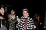 Celebrities attend Alexander Wang and H&M - VIP launch party.