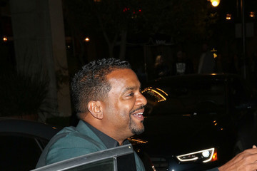 Alfonso Ribeiro Celebrities Are Seen at The Grove in Los Angeles