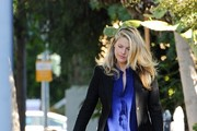 Ali Larter and Her Son Take a Stroll
