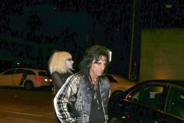 Alice Cooper Alice Cooper Outside Craig's Restaurant in West Hollywood