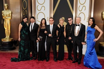 Alison Hewson Arrivals at the 86th Annual Academy Awards