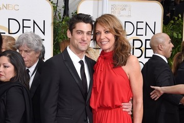 Allison Janney Arrivals at the Golden Globe Awards