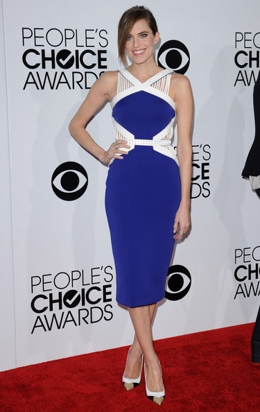 Allison Williams - Arrivals at the People's Choice Awards