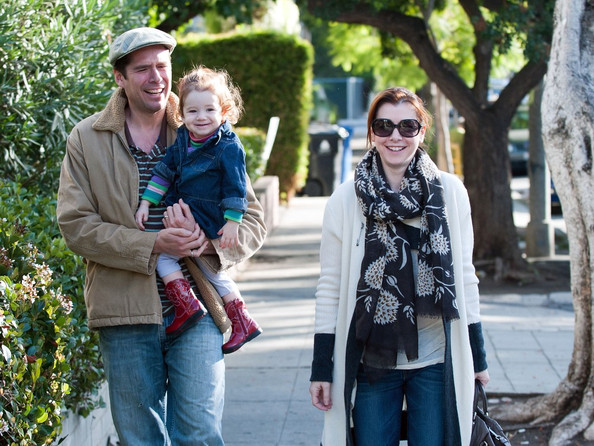 Alyson Hannigan family pictures