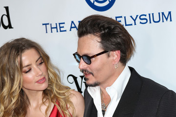 Amber Heard Celebrities Attend Art of Elysium's 9th Annual Heaven Gala