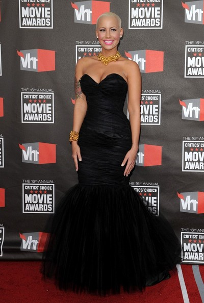 Amber Rose 16th Annual Critics' Choice Movie Awards - Arrivals.Hollywood Palladium, Hollywood, CA.January 14, 2011.