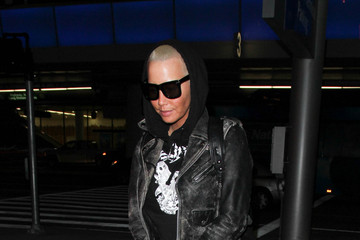 Amber Rose Amber Rose Is Seen at LAX