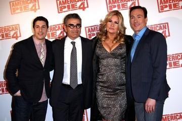 Jason Biggs Eugene Levy 'American Reunion' Premieres in France