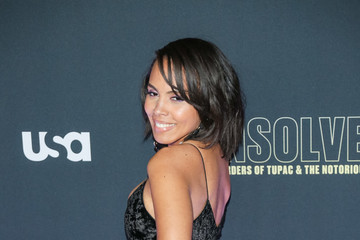 Amirah Vann Premiere Of USA Network's 'Unsolved: The Murders Of Tupac And The Notorious B.I.G.'