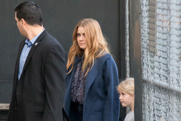 Amy Adams Amy Adams Arrives at 'Jimmy Kimmel Live' With Her Daughter