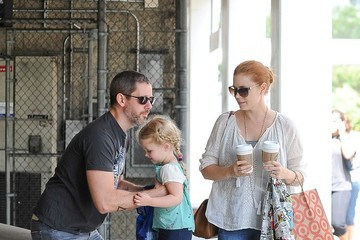 Amy Adams Amy Adams and Family Out Shopping