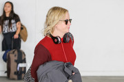 Amy Poehler is seen in Los Angeles, California on October 24, 2018.