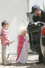 Princess Tiaamii Andre Peter Andre and Family at Their Home in Brighton