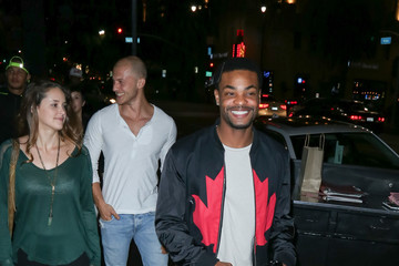 Andrew Bachelor Celebrities Are Seen at Katsuya Restaurant
