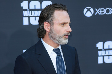 Andrew Lincoln AMC Celebrates The 100th Episode of 'The Walking Dead'